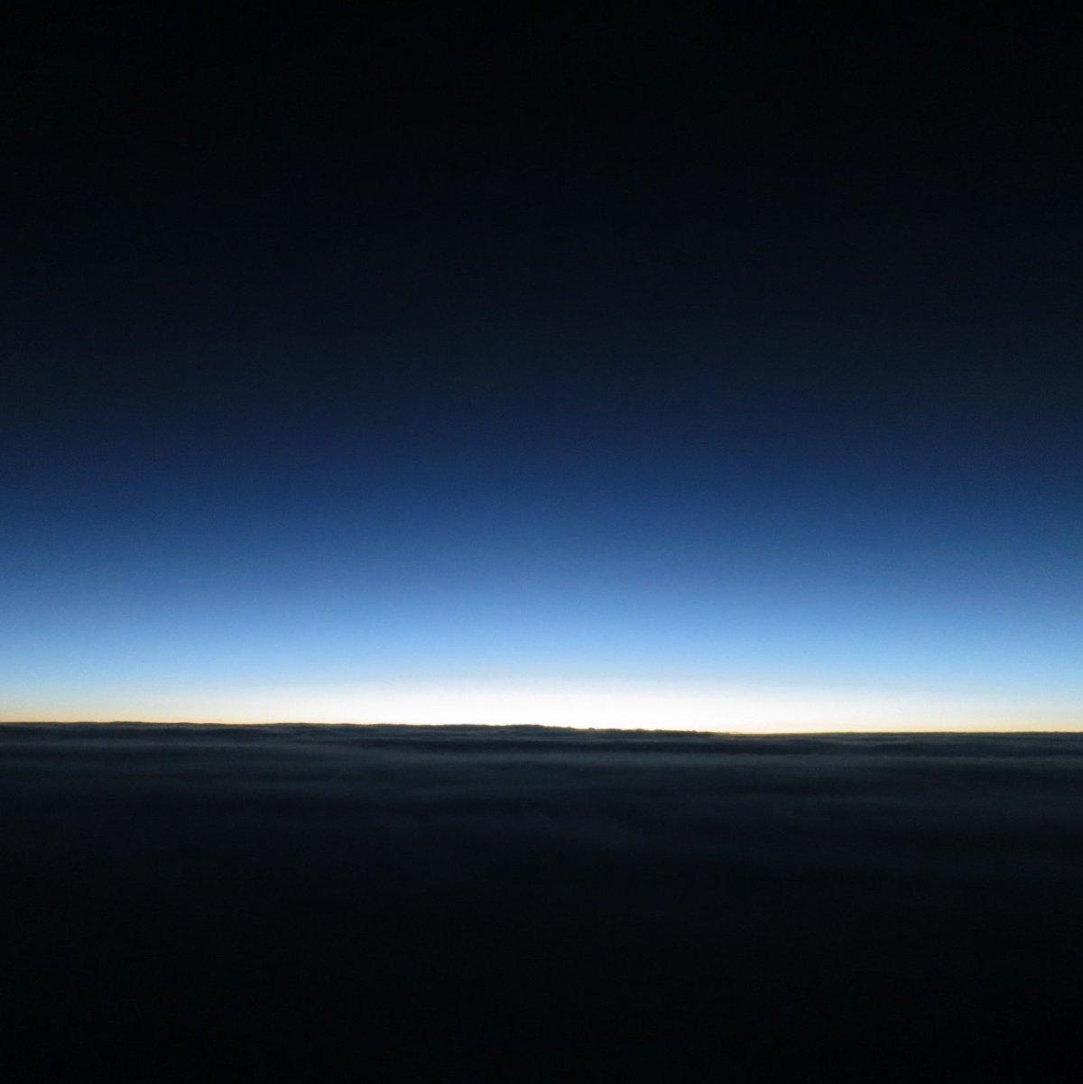 Pre-dawn horizon