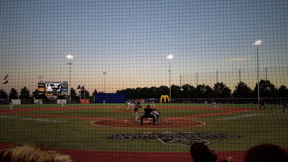 Game night with the Hillsboro Hops