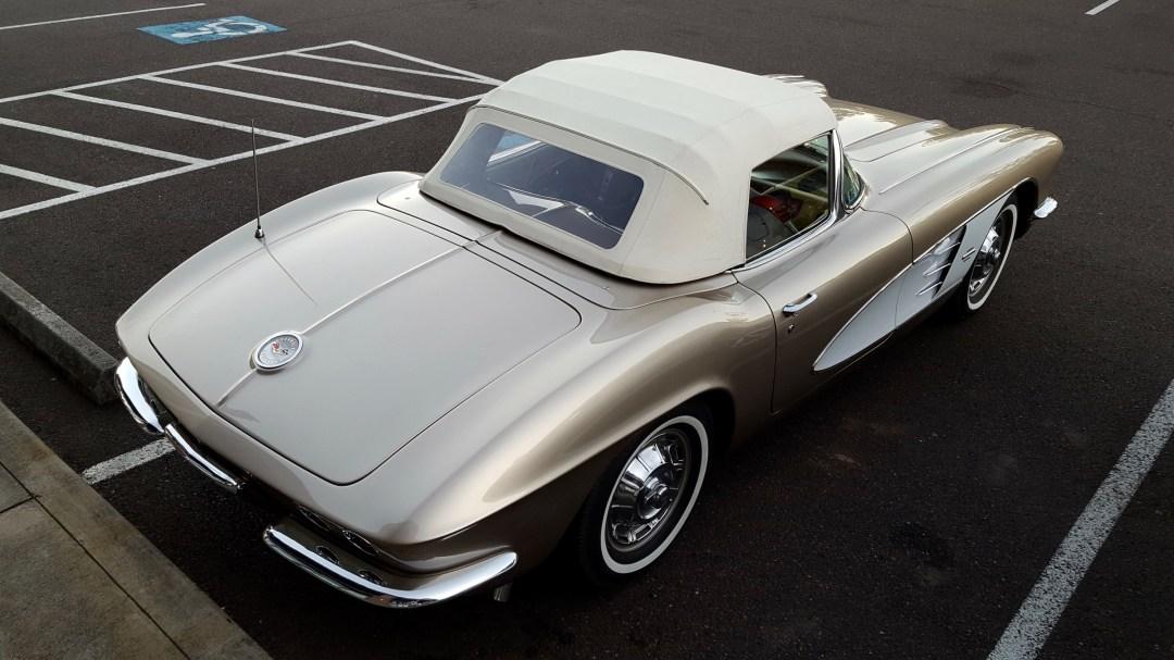 Convertible Corvette