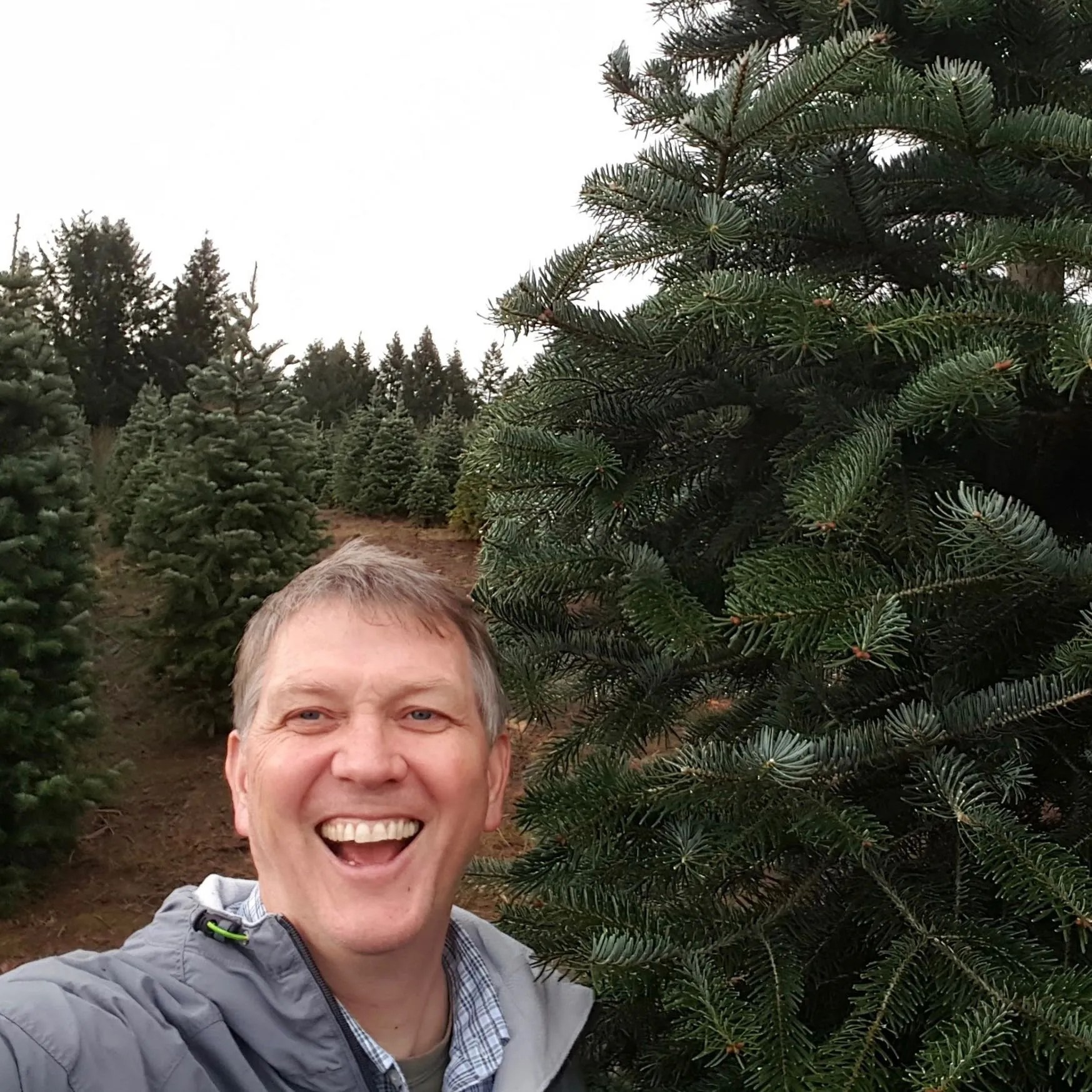Selfie with a tree