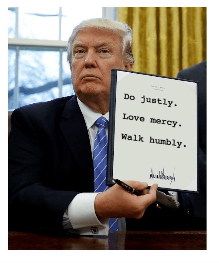 Write an executive order