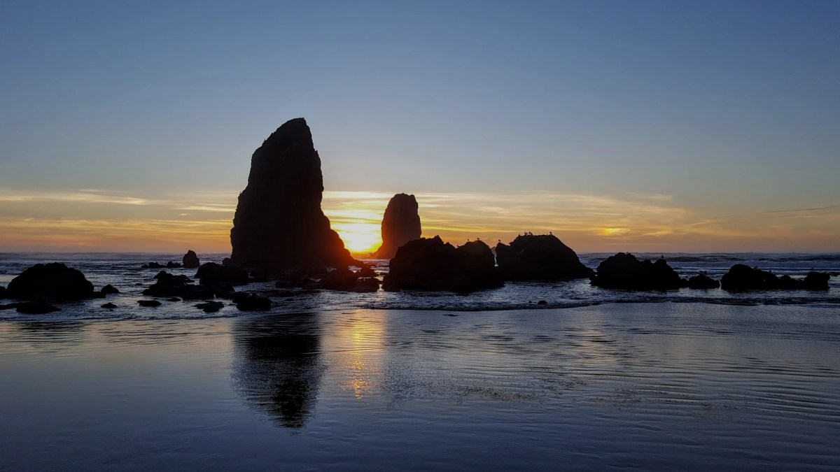 Cannon Beach for the new year