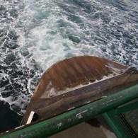 Ferry stern