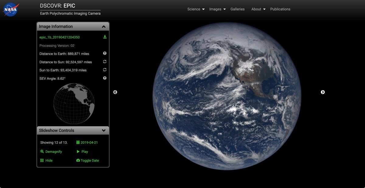 DSCOVR – Earth from L1