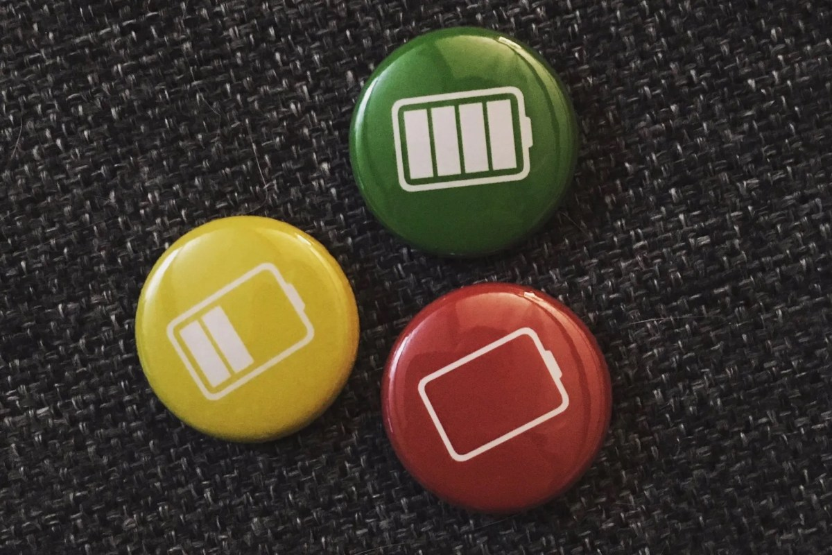 """Battery gauge"" buttons, courtesy @turoczy"