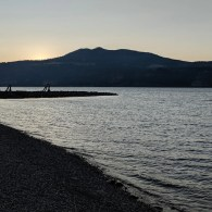 Sunset at Hood River