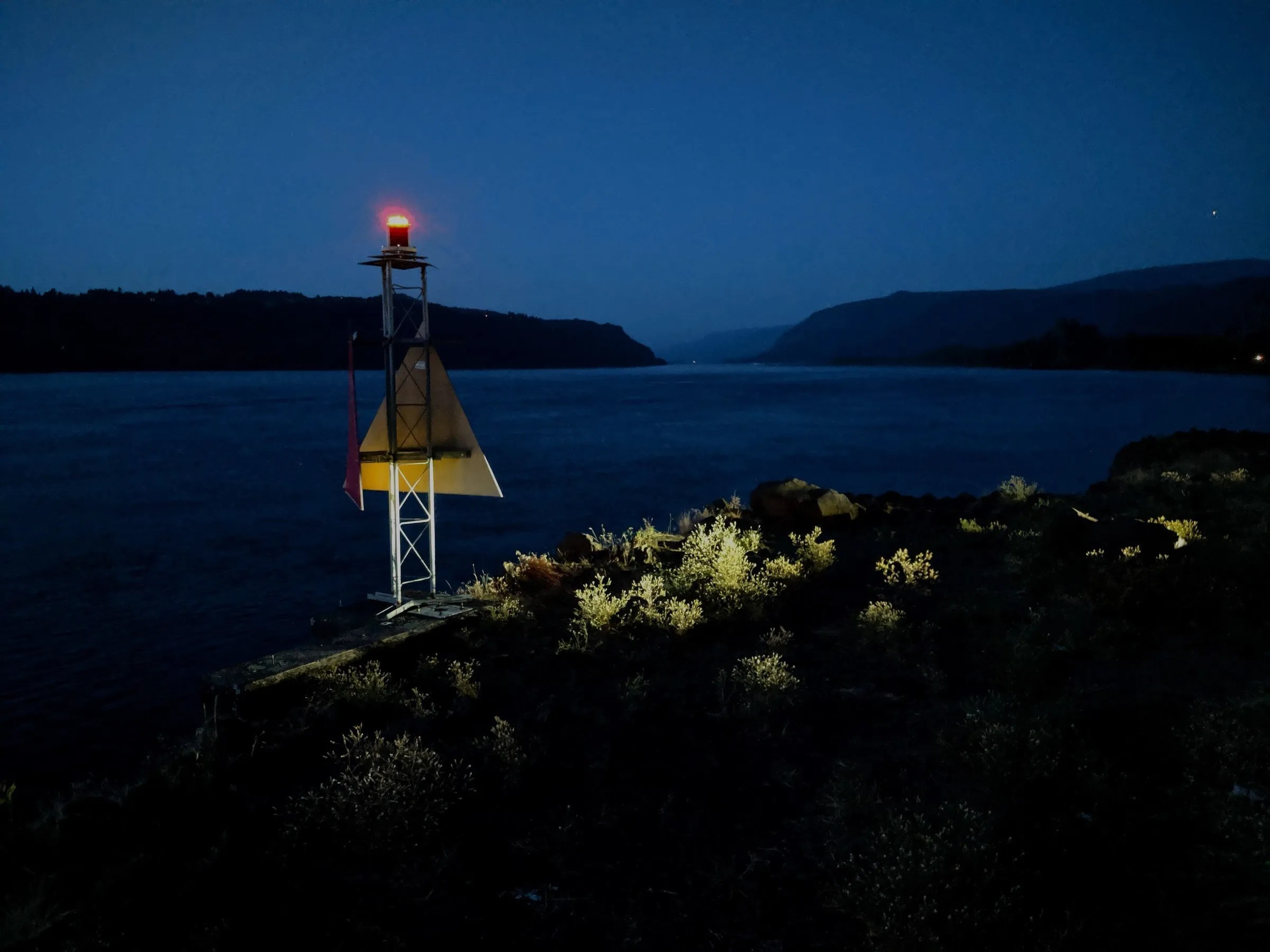 Navigation Light at Corbett View Point