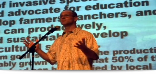 Sustainability Presentation at the People's Theater in Honokaa, Hi