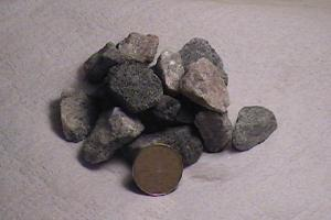 """Clear Granite 1"""" washed for tile beds"""