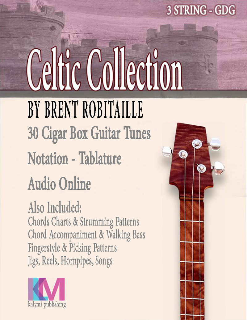 Cigar Box Guitar Celtic Collection Front Cover