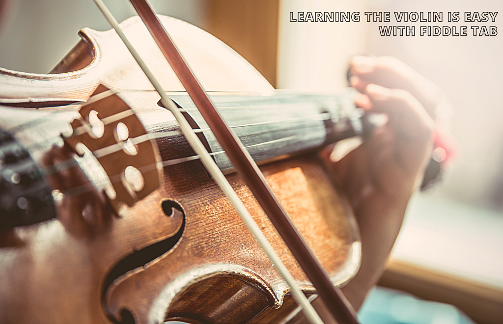 How to Read Fiddle Violin Tab - Tablature