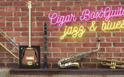Learn to Play a 12 Bar Jazz Blues on the Cigar Box Guitar