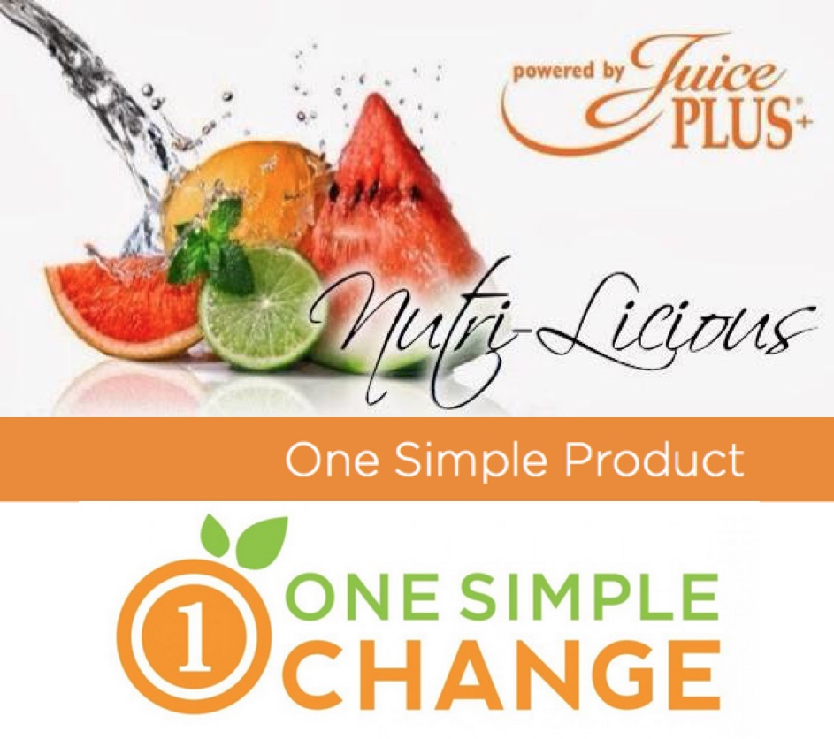 Juice Plus Rep: One Simple Change