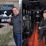 Walter Gretzky visits Brentwood Livery