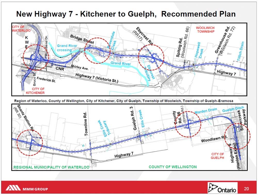 highway 7 kitchener to guelph plan