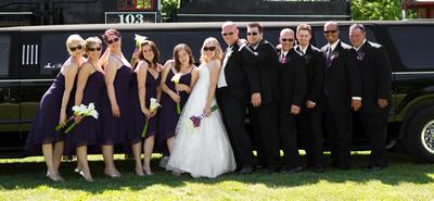 Kitchener Waterloo Wedding Limousine Service