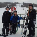 family trip to Collingwood's Blue Mountain