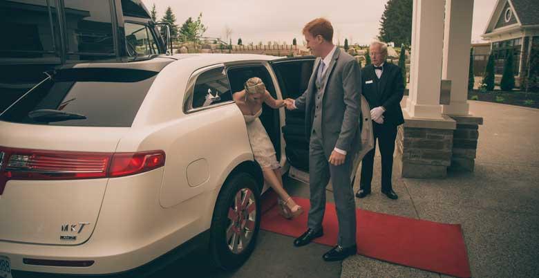 Chauffeured Wedding Limousine Waterloo