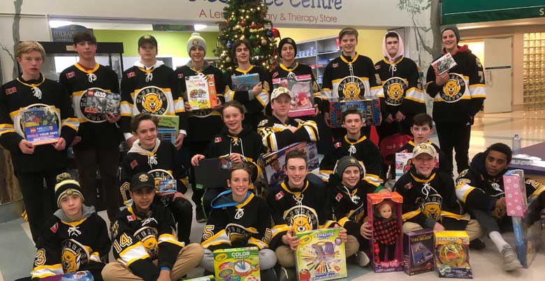 Waterloo Wolves Select Team invest in their Community