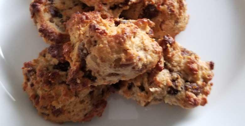 Gluten Free Date & Pecan Cookies