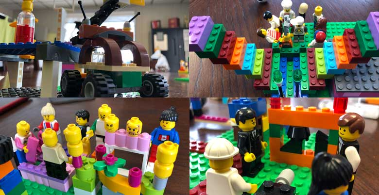 Clutch Power Consulting Lego Real Play for Businesses and teams