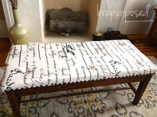 Piano Bench Ottoman