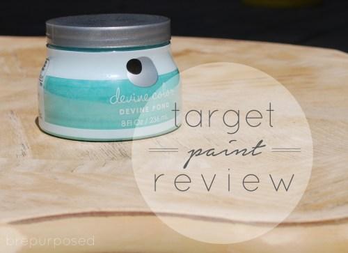 Target Devine Paint Review