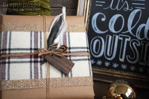 DIY Rustic Christmas Wrapping