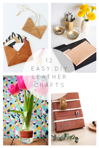 12 Easy DIY Leather Crafts