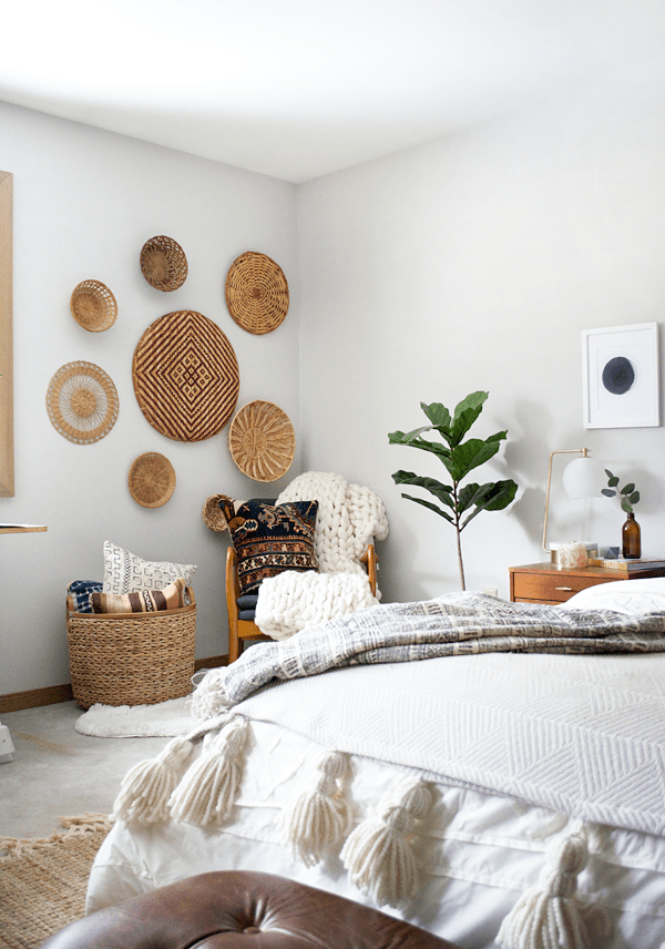 The Best Places to Find Decorative Wall Baskets to give you space a boho look