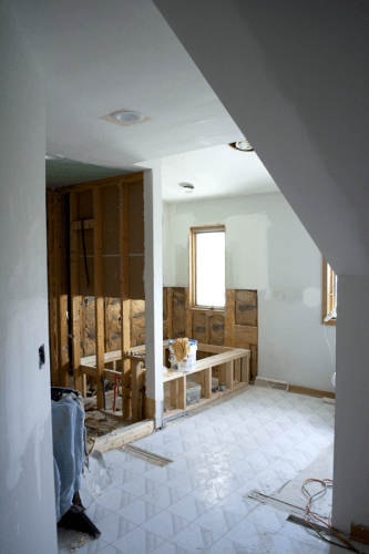 One Room Challenge Week 2 :: Demo and Drywall!