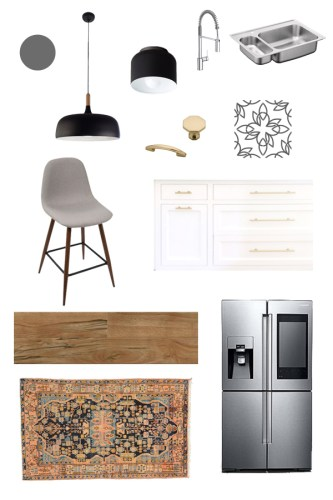 Budget Kitchen Makeover :: The Plans