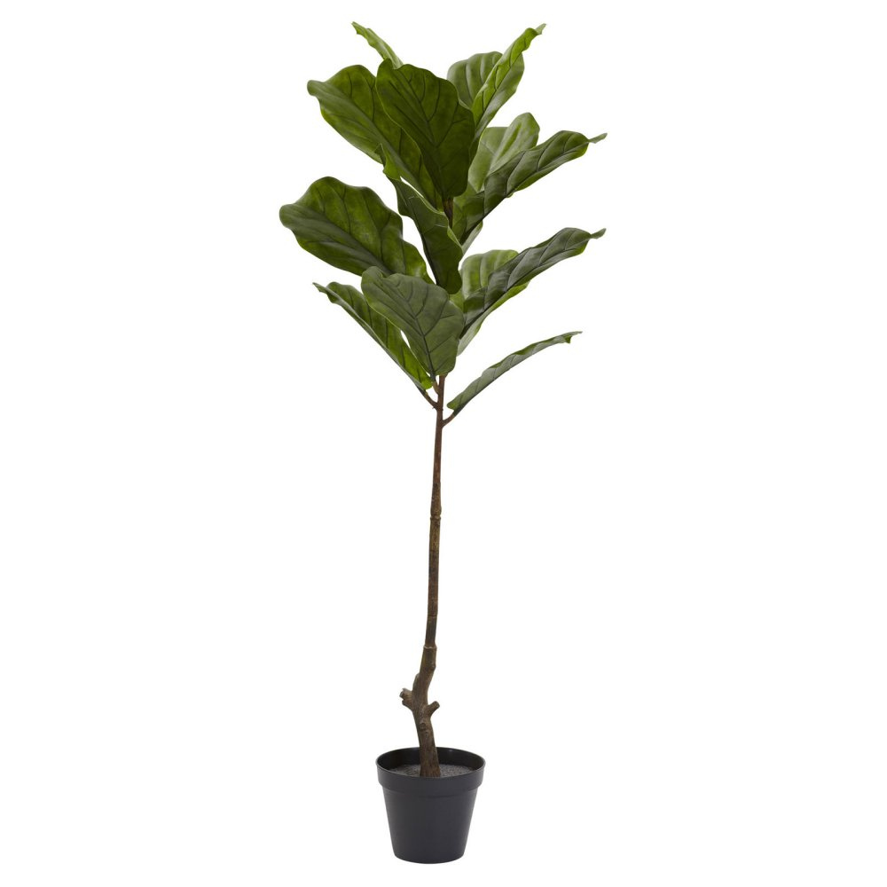 where to buy the best faux fiddle leaf figs for under 100