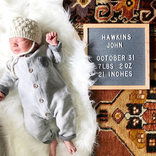 Meet Hawkins!