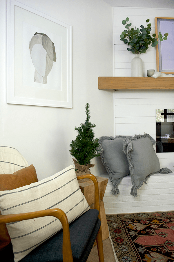 Simple and neutral christmas decor