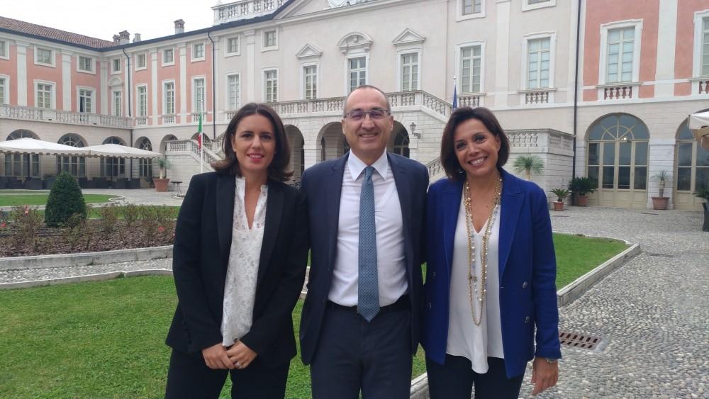 Claudia Gabana, Fabrizio Scuri e Daniela Grandi