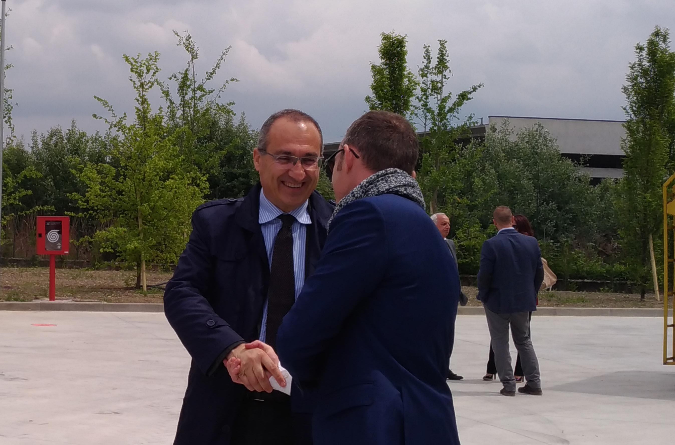 Il presidente di Centro Padane Srl Fabrizio Scuri