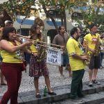 Chaque visite de Rio réserve son lot de surprises, ici un Bloco de Carnaval