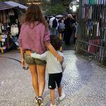 Les visites de Rio se font aussi en Famille...