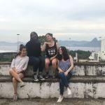Joli moment à Gloria (Rio) avec le groupe