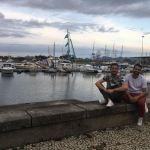 Petite pause à la marina de Gloria, dans le centre de Rio