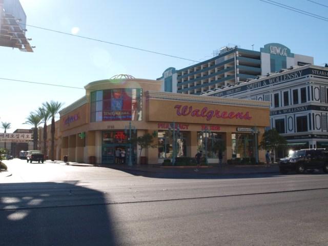 Walgreens Facade - Las Vegas Boulevard - Before Photo