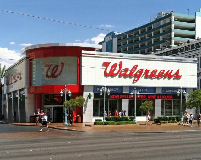 Walgreens Facade - Las Vegas Boulevard - Current Daytime Photo