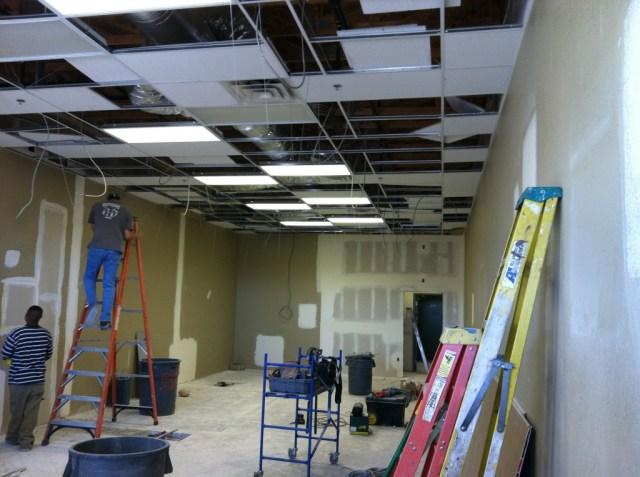 Interior GNC Store build-out