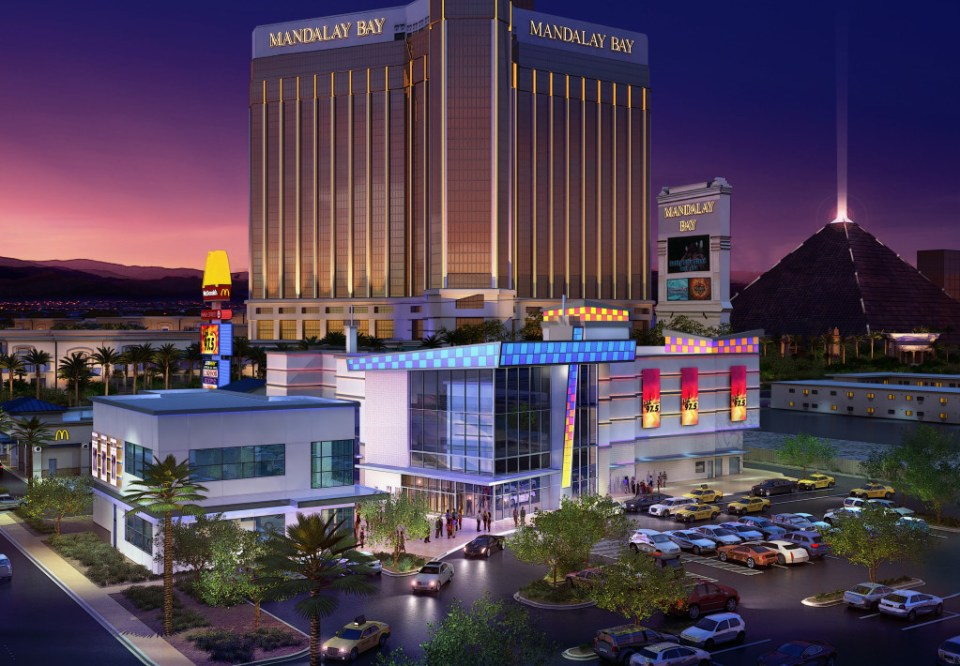 Exterior architectural rendering of the Akita Event Center
