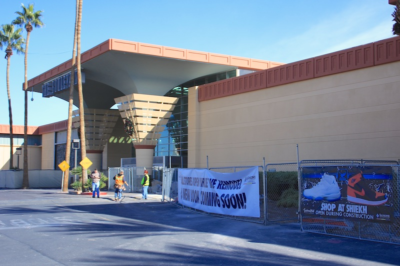 Boulevard Facade Remodel - Main Entrance Area