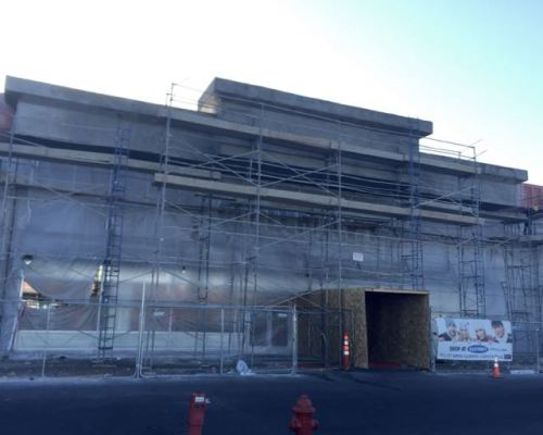 Boulevard Mall Facade Remodel Progress April 2015  - 1