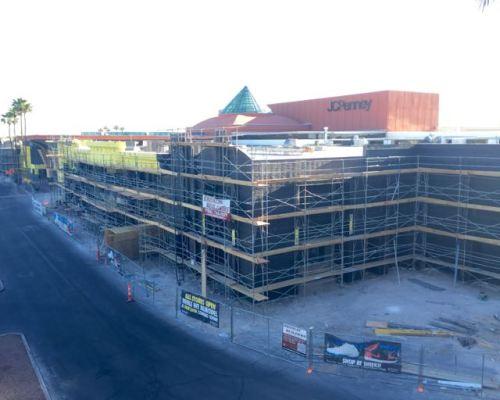 Boulevard Mall Facade Remodel Progress April 2015  - 10
