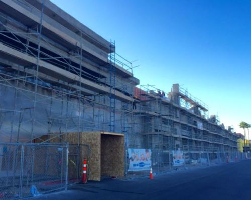 Boulevard Mall Facade Remodel Progress April 2015  - 2