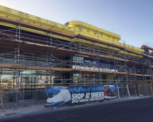 Boulevard Mall Facade Remodel Progress April 2015  - 7